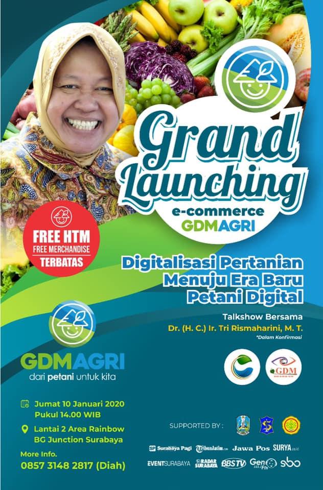 event grand launching gdm agri
