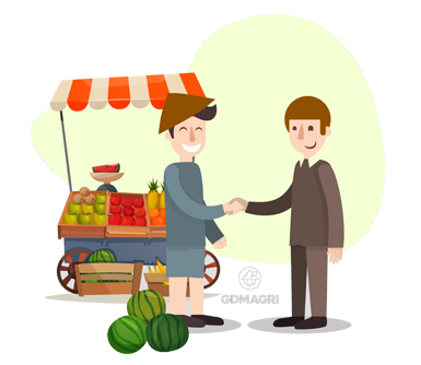 petani dan pembeli