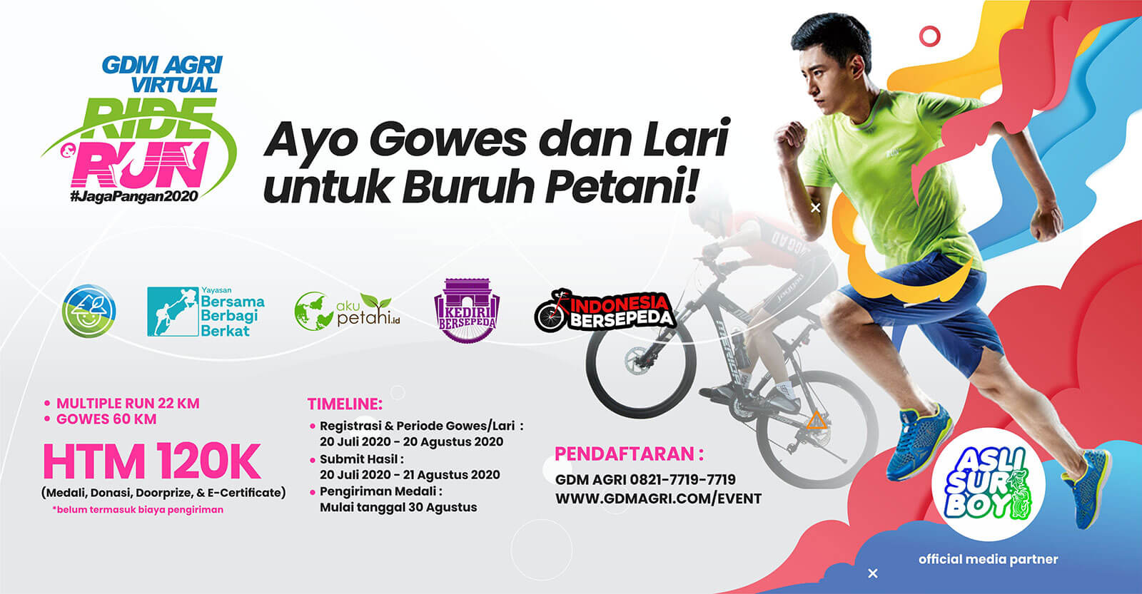 event gdm agri virtual ride run